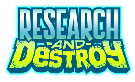 RESEARCH AND DESTROY LOGO